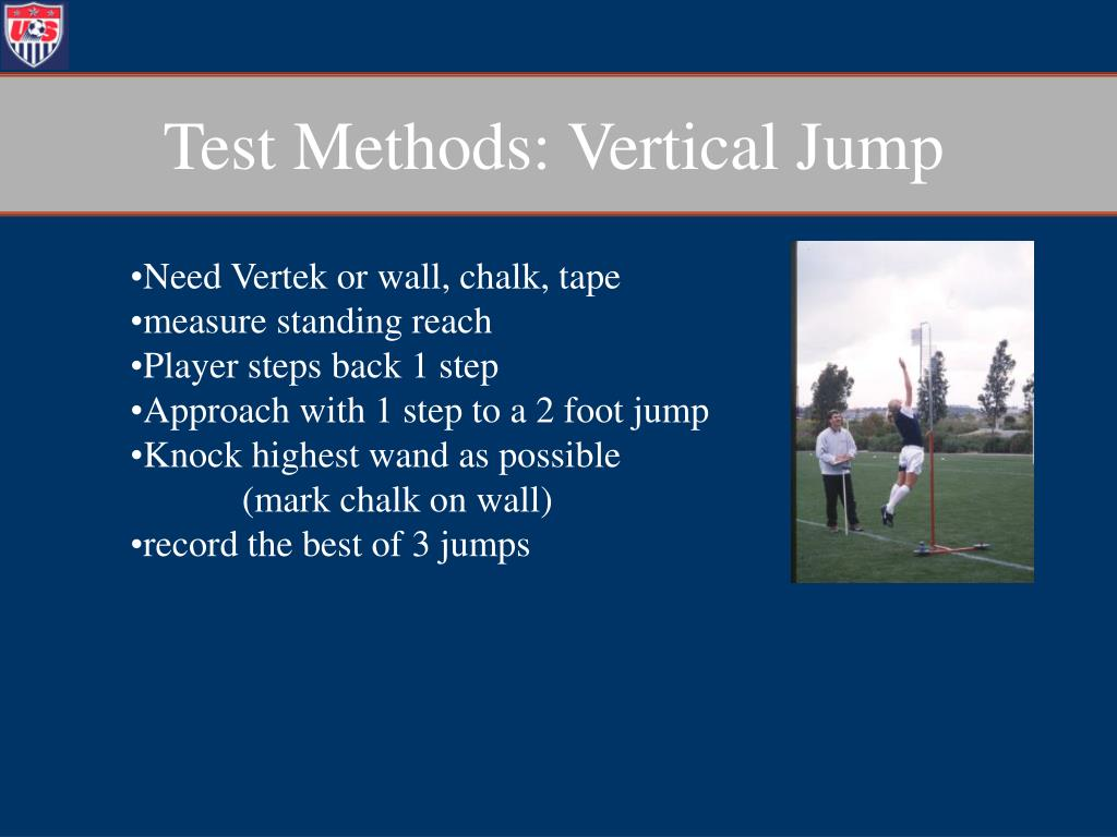 Test Methods: Vertical Jump
