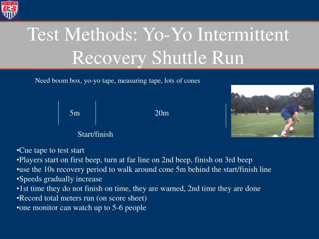 Test Methods: Yo-Yo Intermittent Recovery Shuttle Run