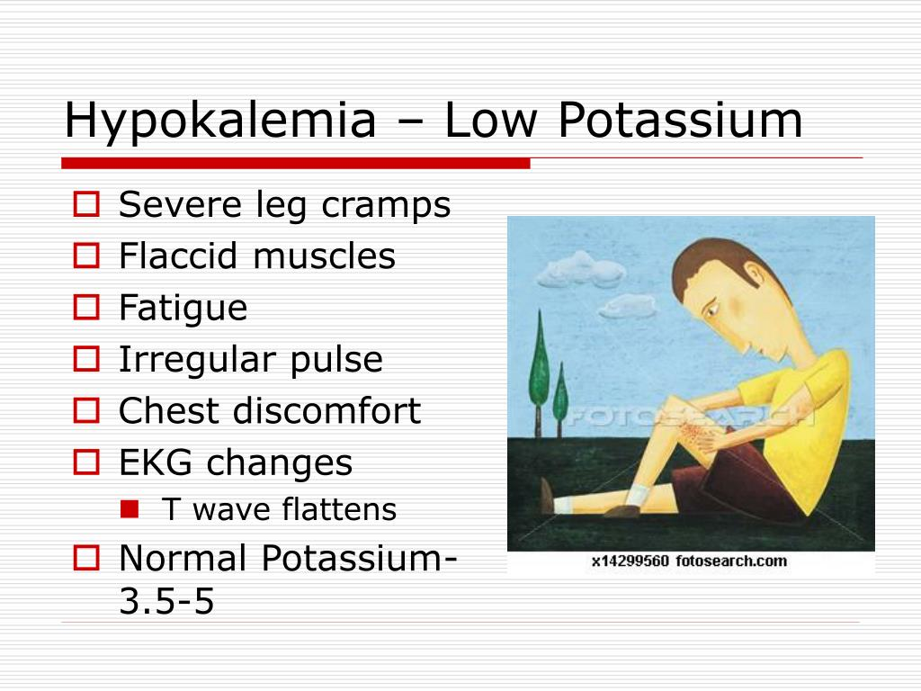 Hypokalemia – Low Potassium