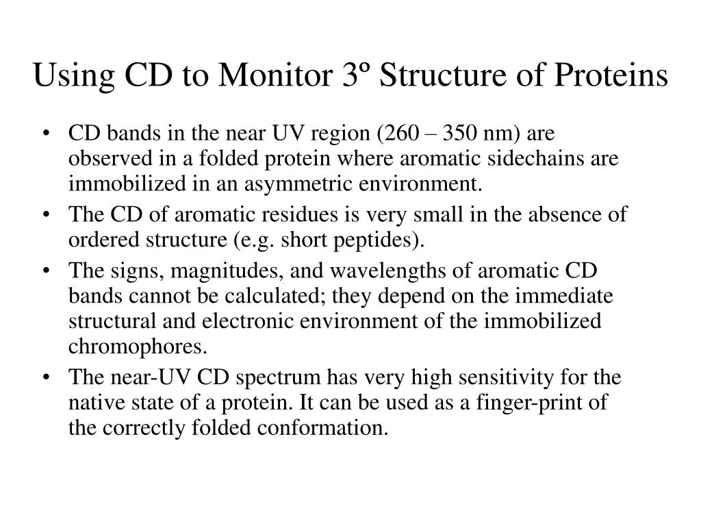 Using CD to Monitor 3