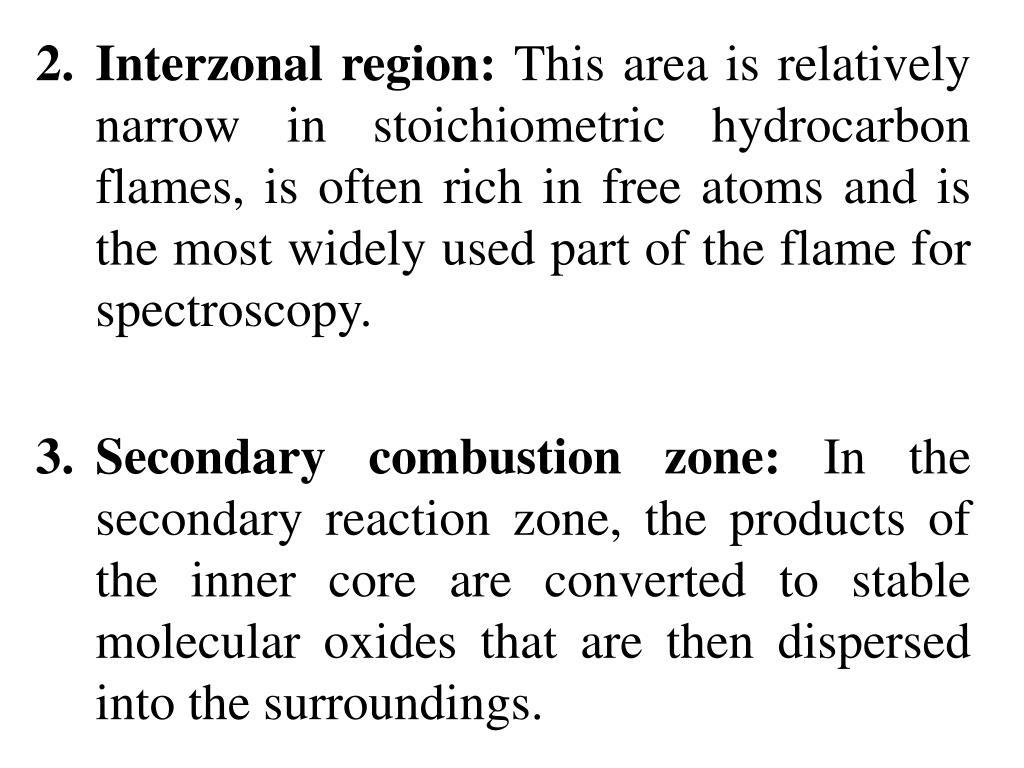 2.Interzonal region: