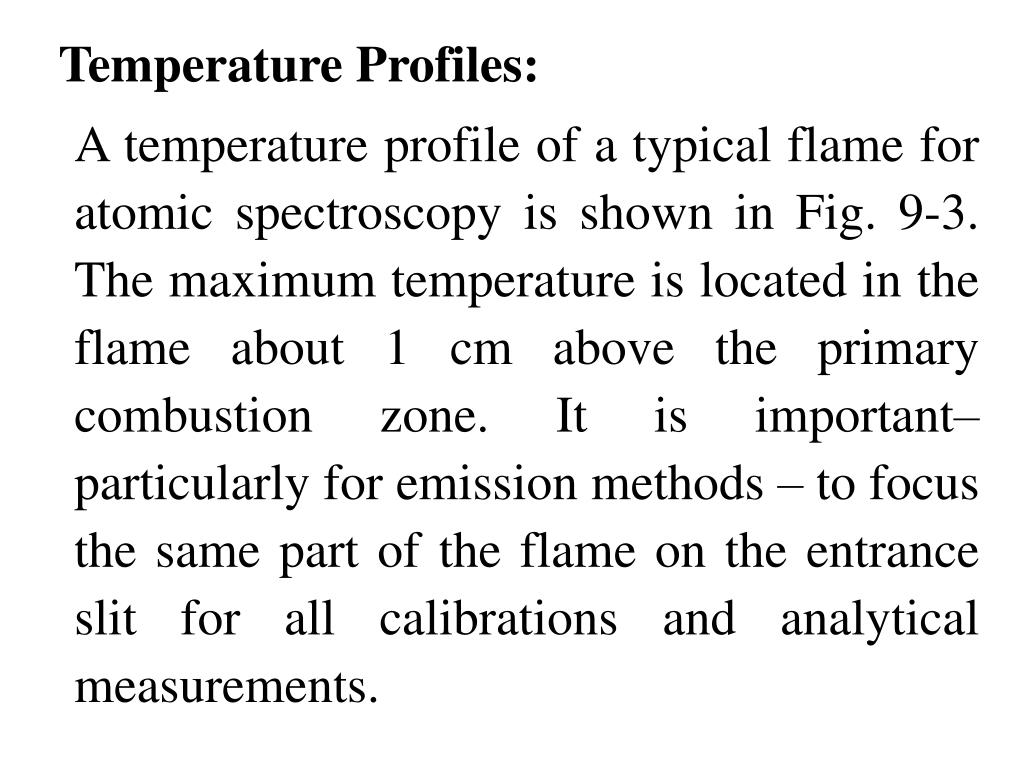 Temperature Profiles: