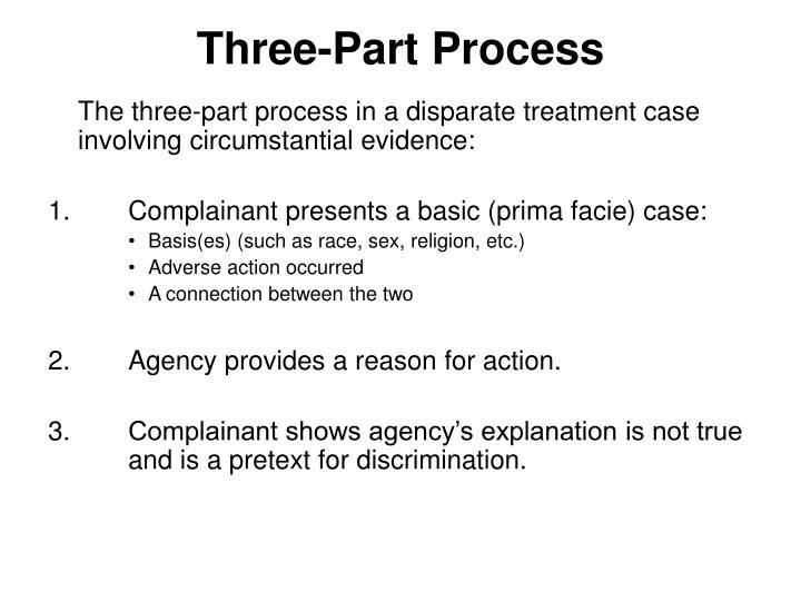 Three-Part Process