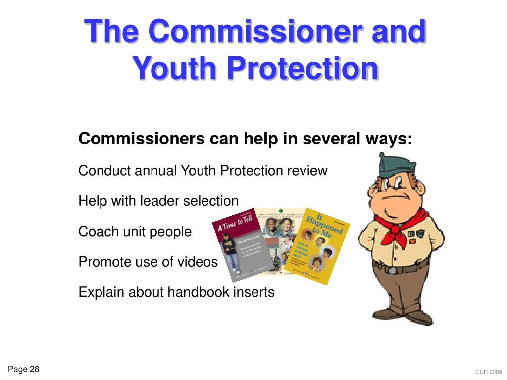 The Commissioner and Youth Protection