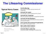 the lifesaving commissioner54