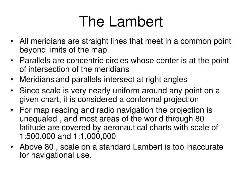 The Lambert