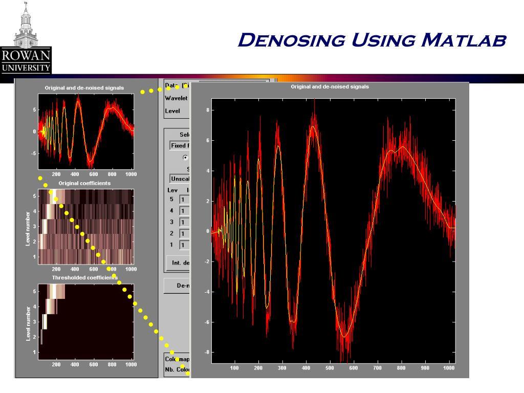 Denosing Using Matlab