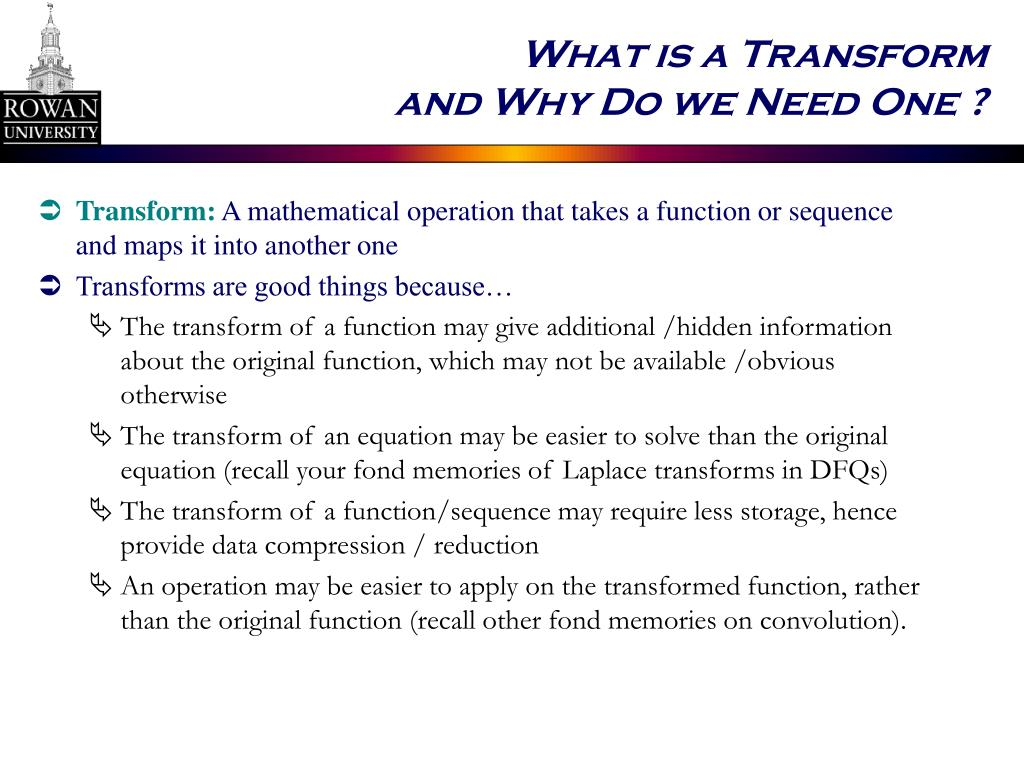What is a Transform