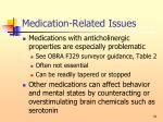 medication related issues51