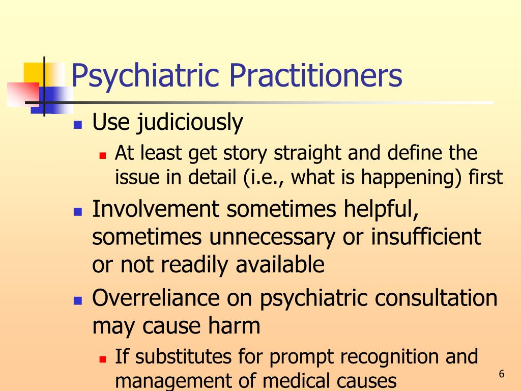 Psychiatric Practitioners