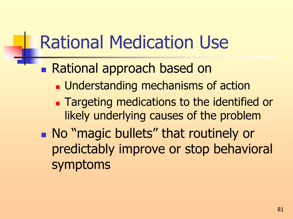 Rational Medication Use