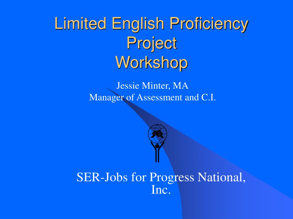 Limited English Proficiency Project