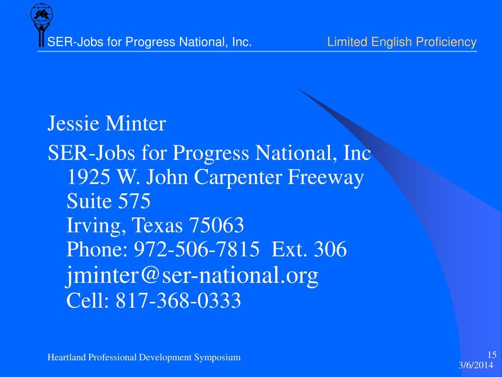 Jessie Minter