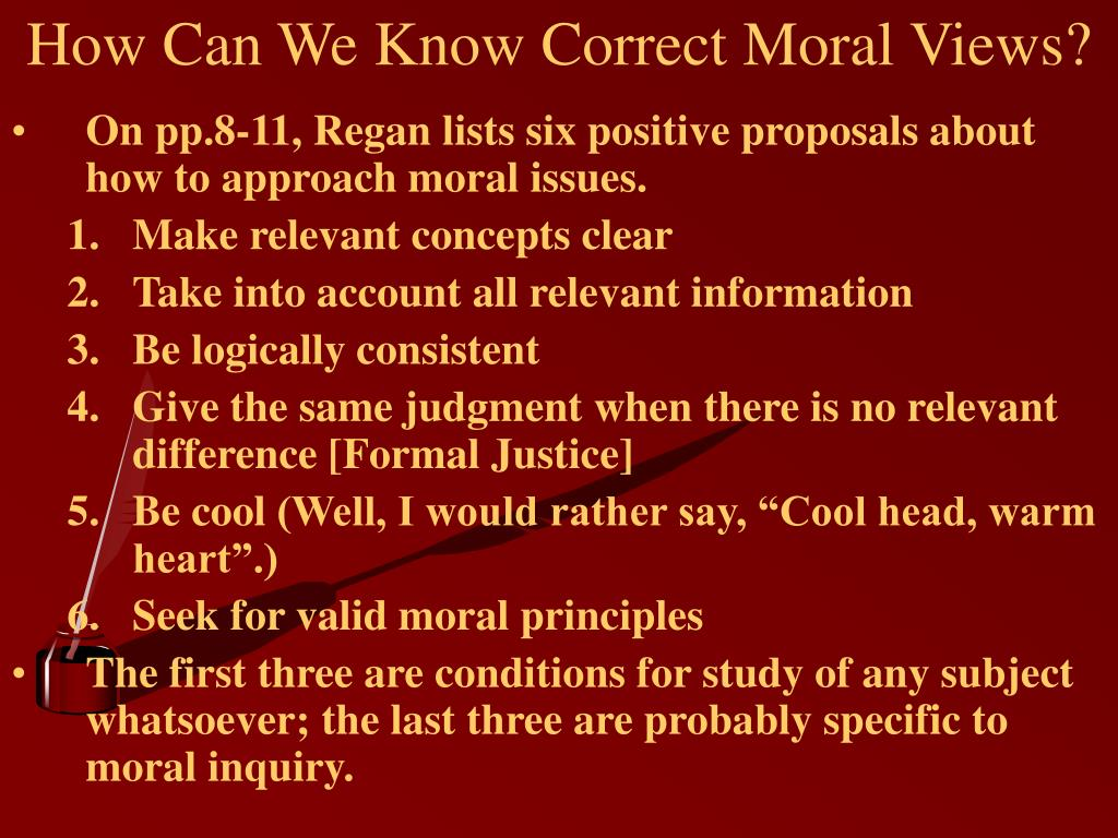 How Can We Know Correct Moral Views?