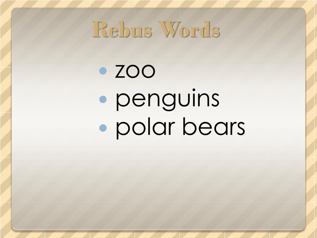 Rebus Words