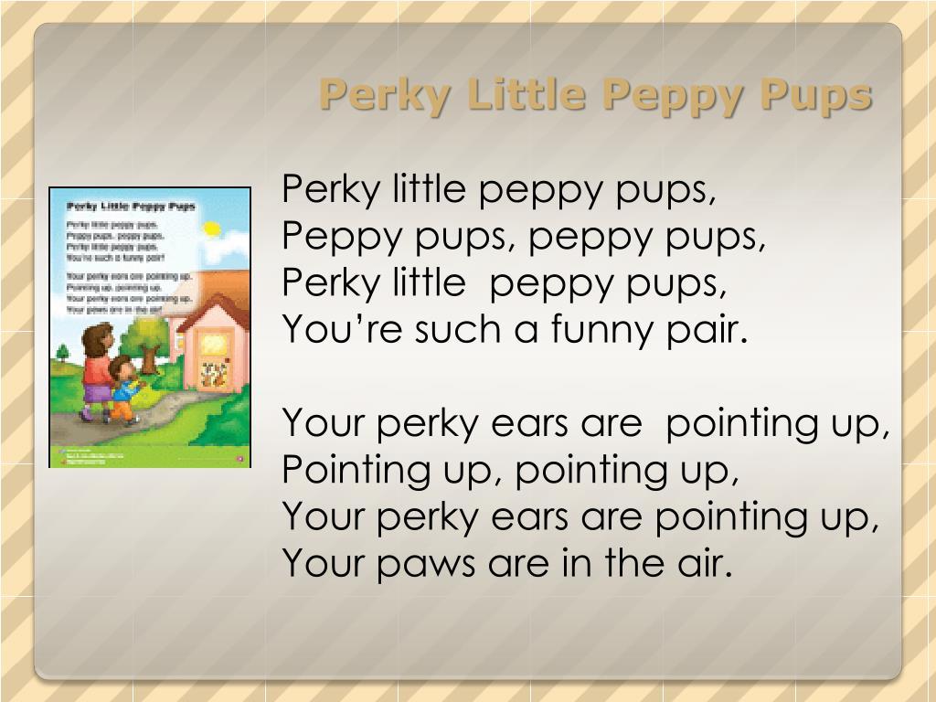 Perky Little Peppy Pups