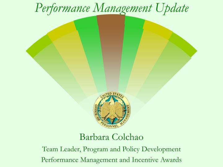 Performance management update l.jpg