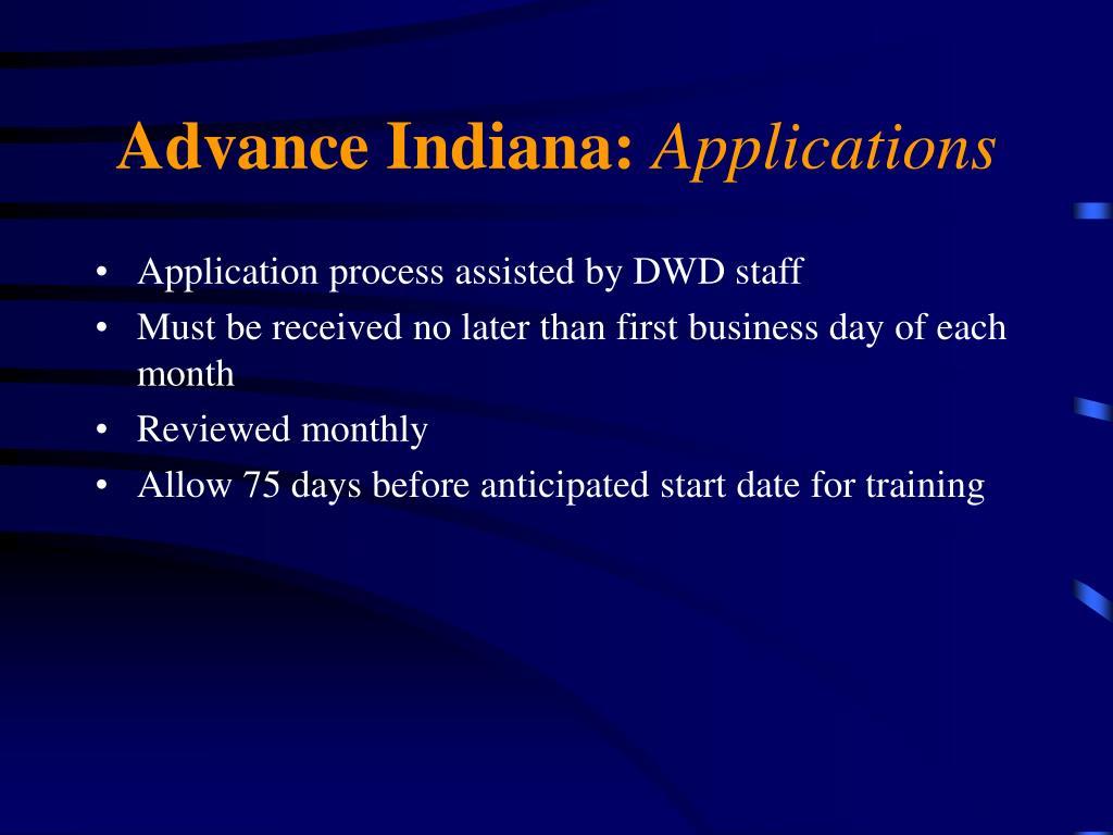Advance Indiana:
