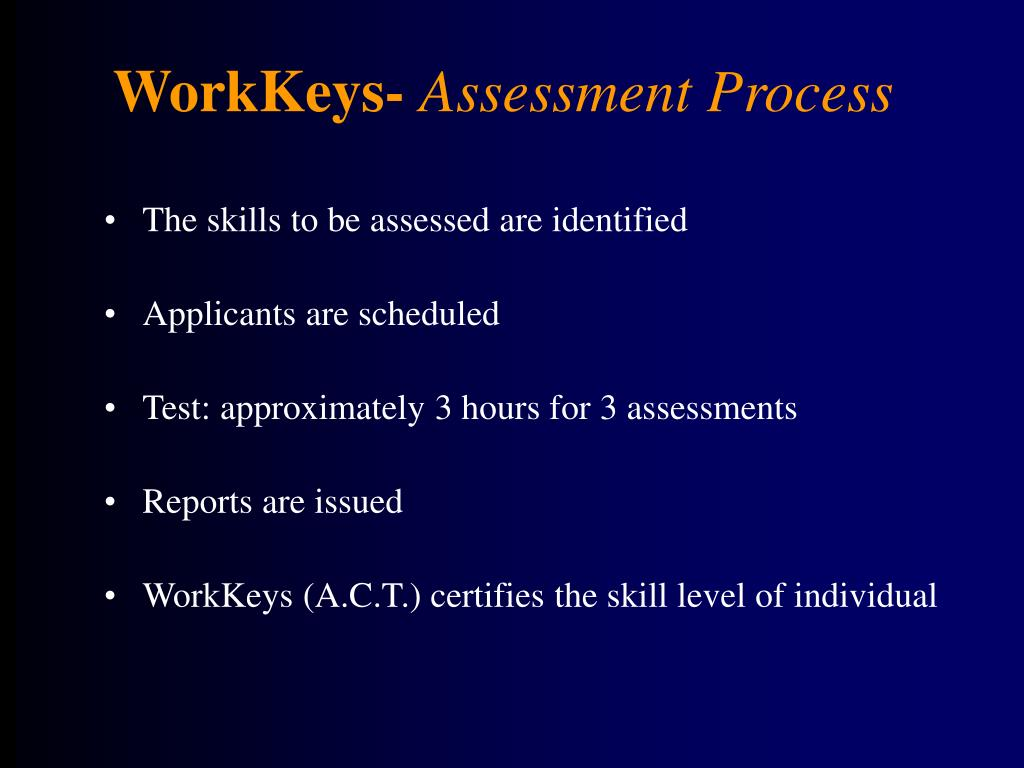 WorkKeys-