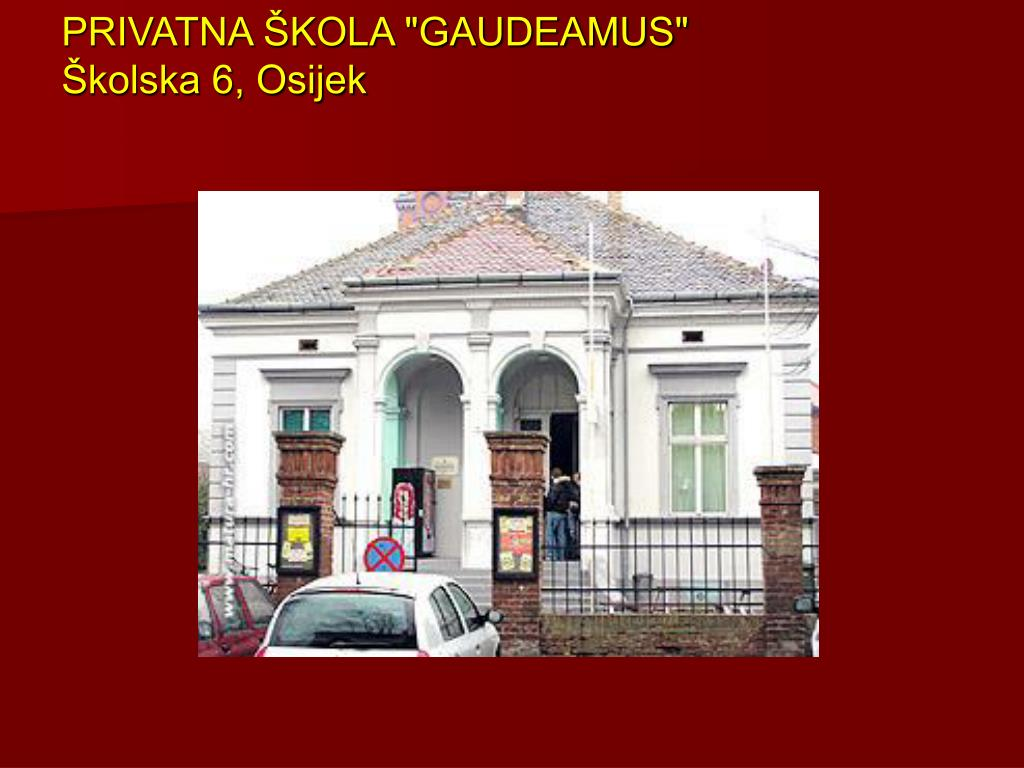 """PRIVATNA ŠKOLA """"GAUDEAMUS"""""""