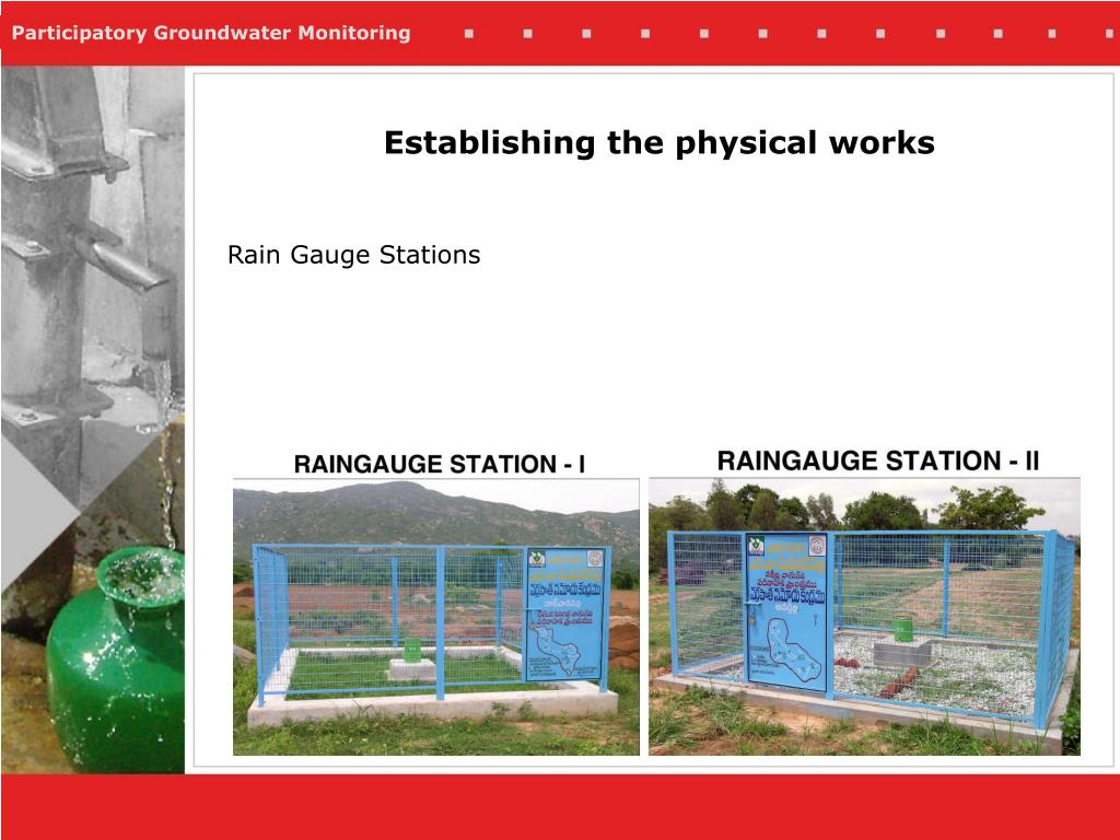 Rain Gauge Stations