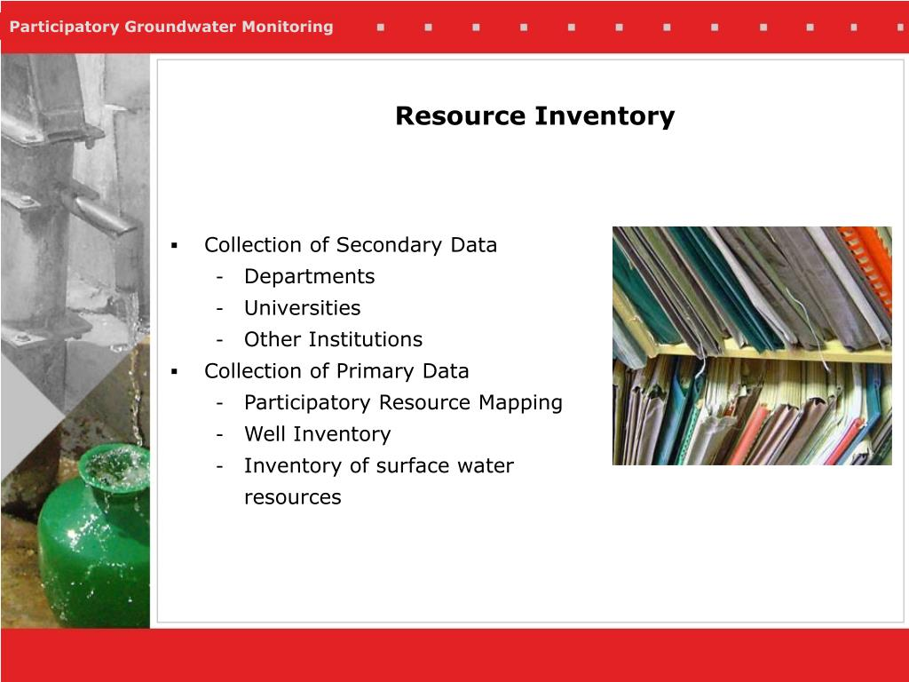 Resource Inventory