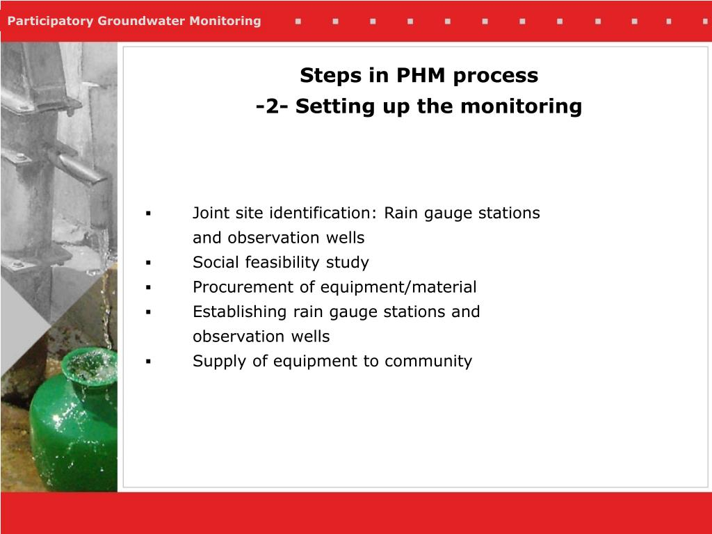 Steps in PHM process