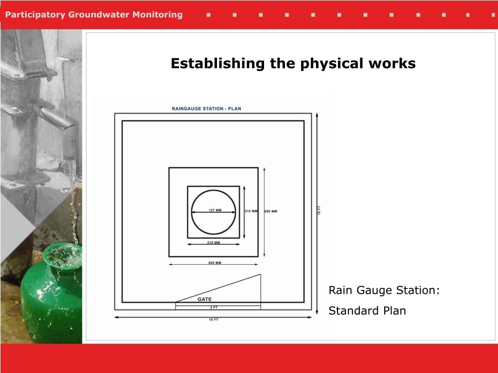 Establishing the physical works