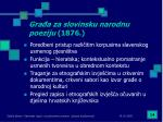 gra a za slovinsku narodnu poeziju 1876