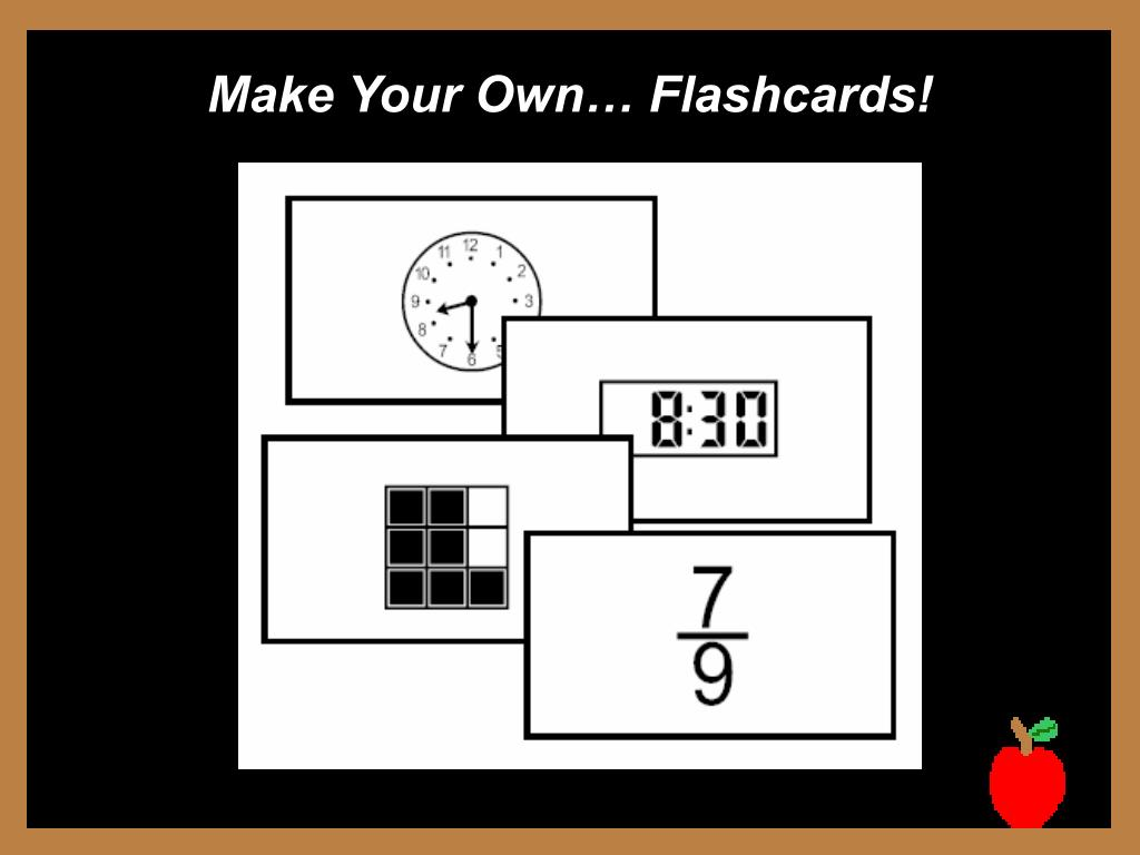 Make Your Own… Flashcards!