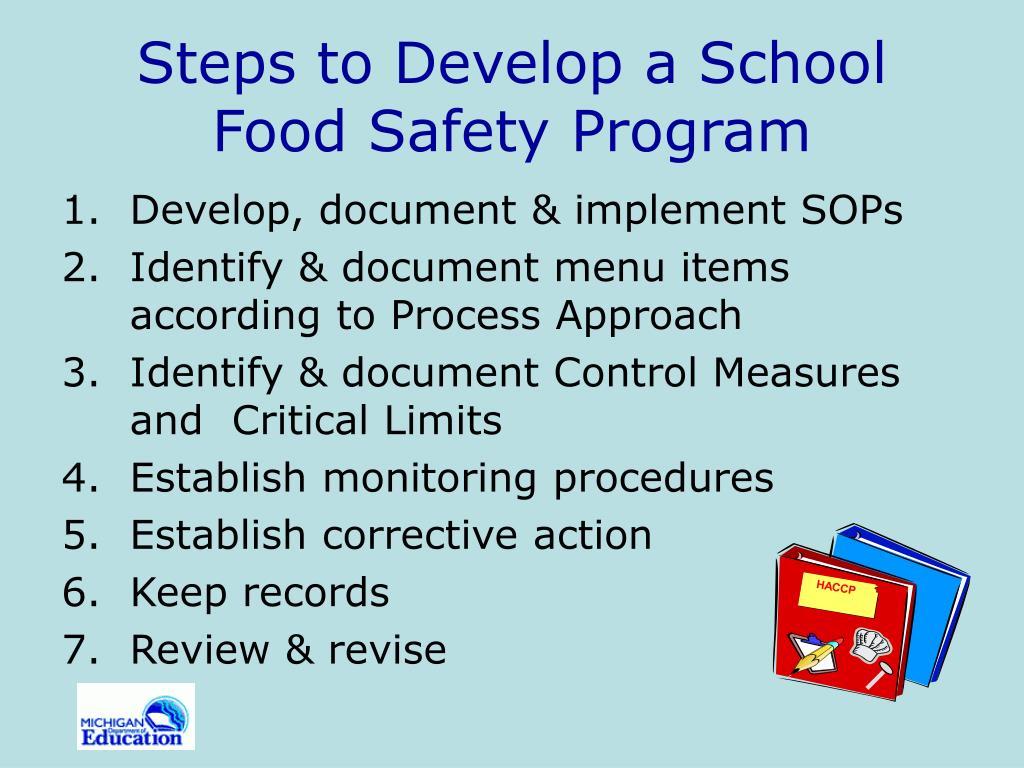 safety program development