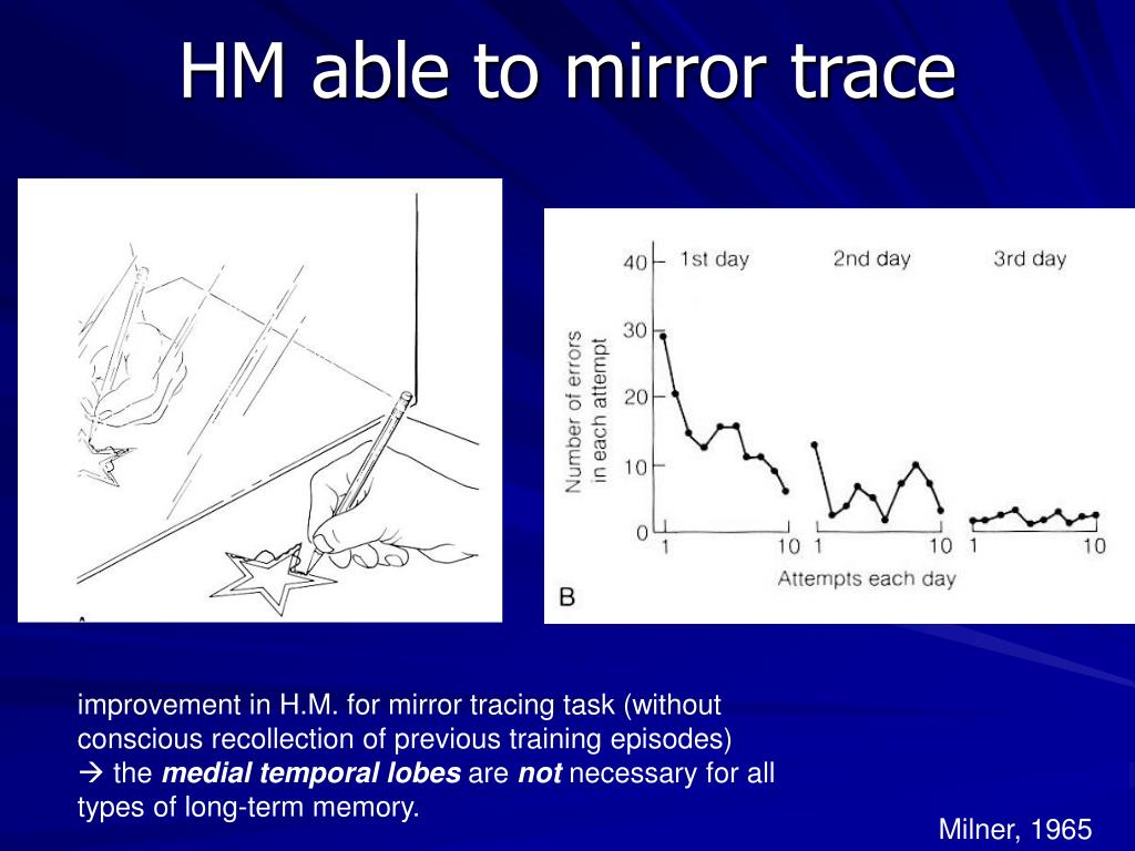 HM able to mirror trace