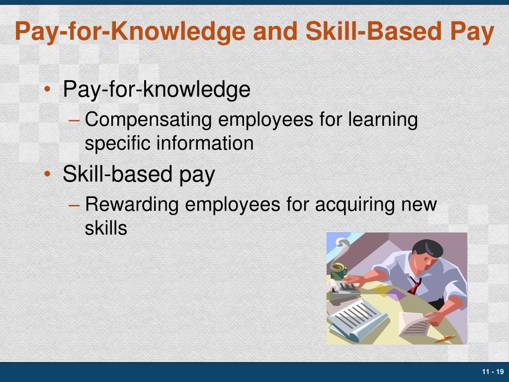Pay-for-Knowledge and Skill-Based Pay