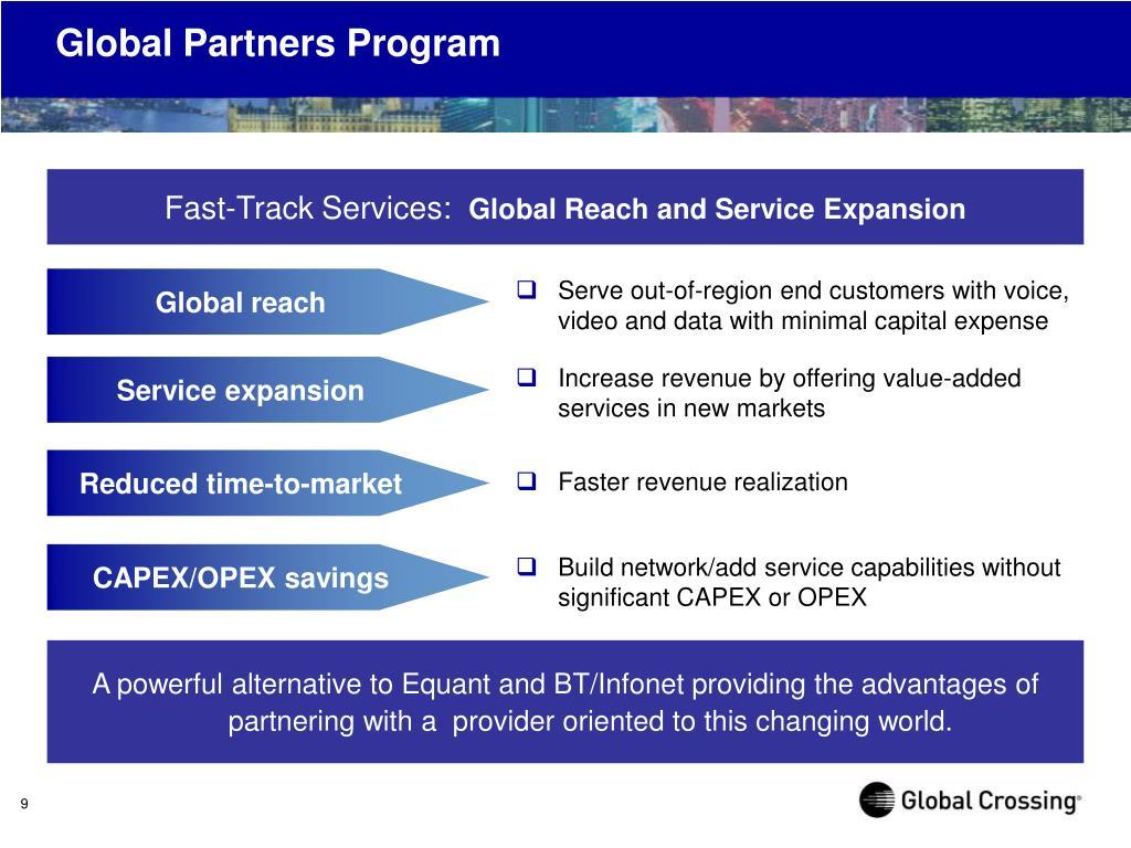 Global Partners Program