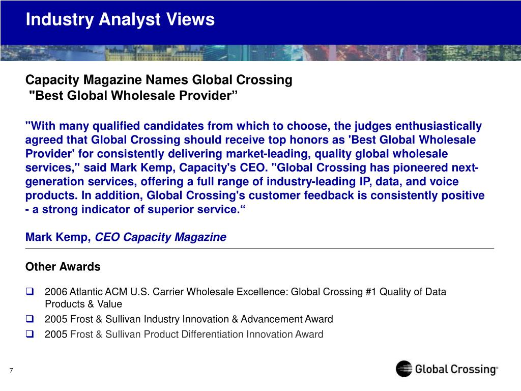 Industry Analyst Views