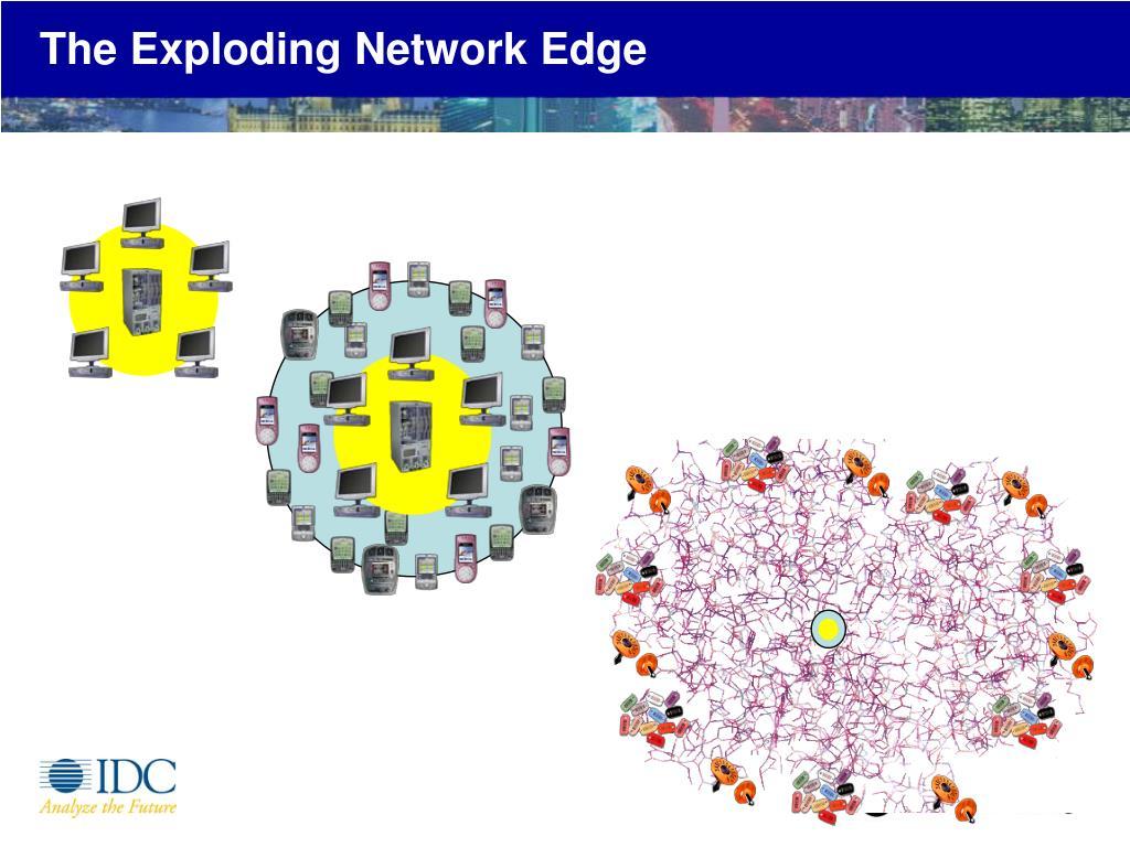 The Exploding Network Edge