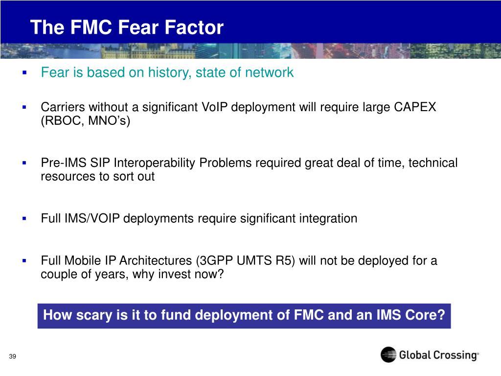 The FMC Fear Factor