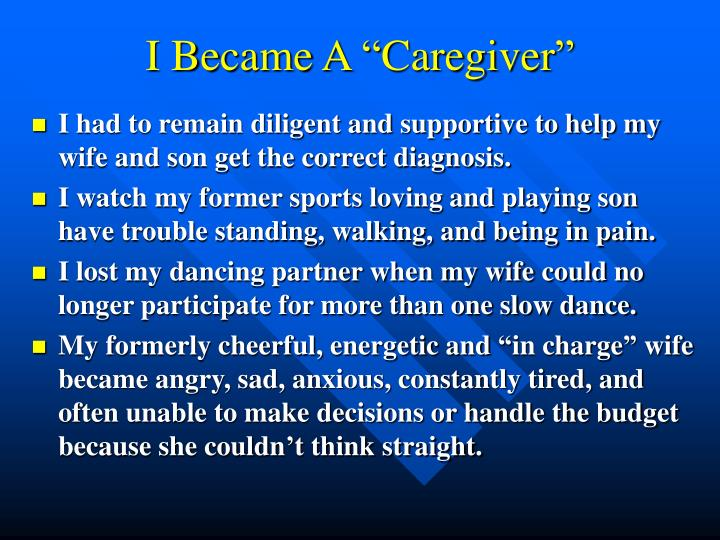 I became a caregiver l.jpg