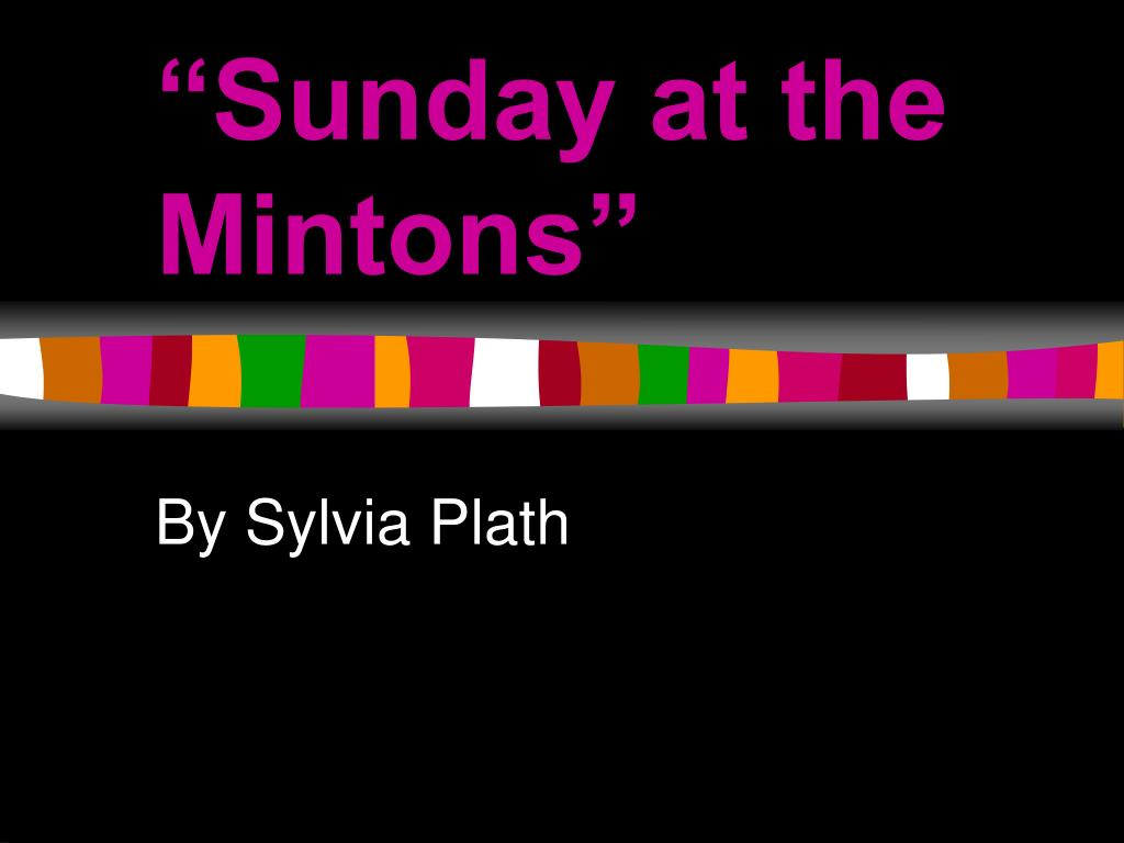 """""""Sunday at the Mintons"""""""
