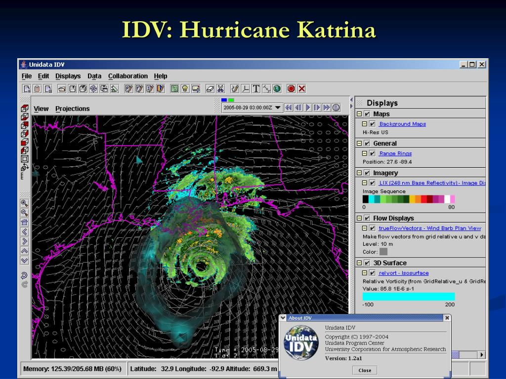 IDV: Hurricane Katrina
