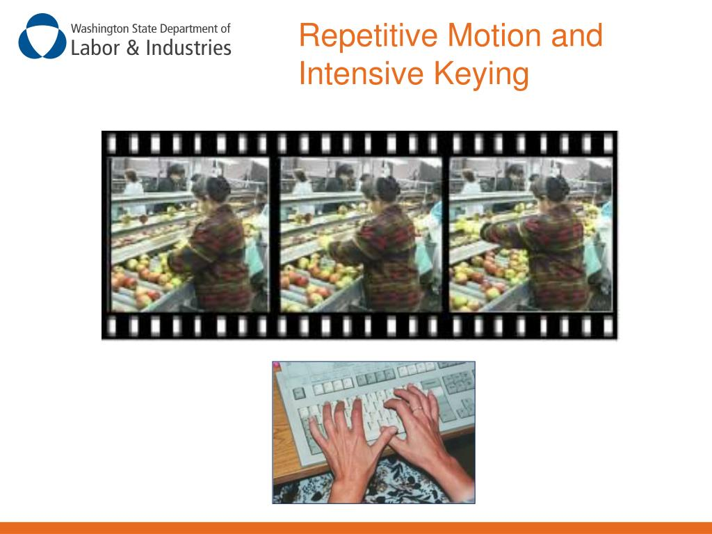 Repetitive Motion and Intensive Keying