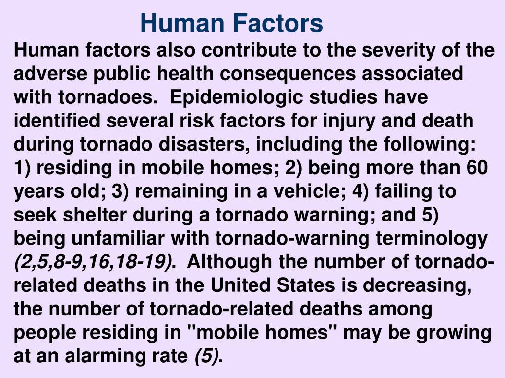 Human Factors