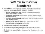 wis tie in to other standards23