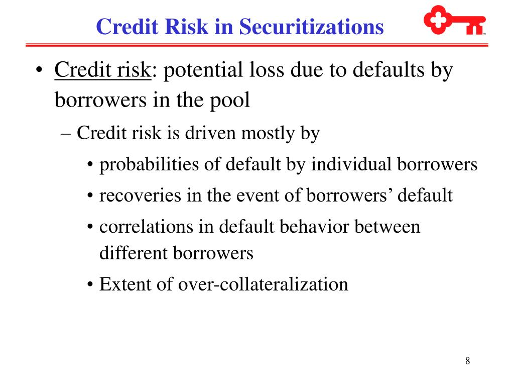Credit Risk in Securitizations