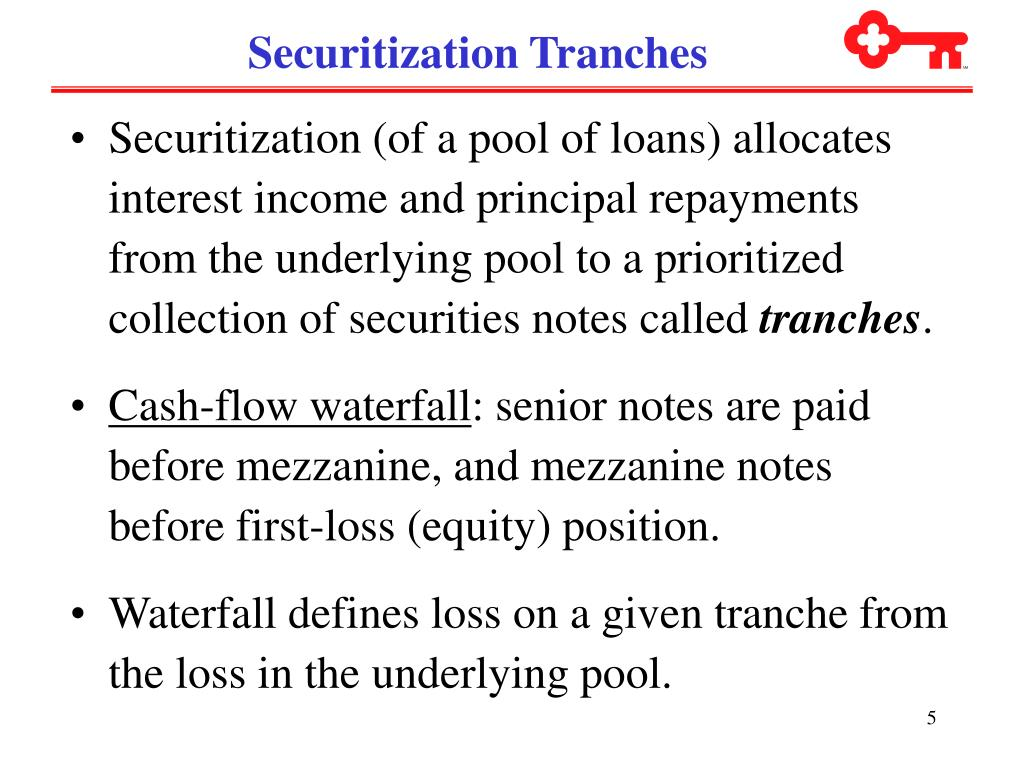 Securitization Tranches