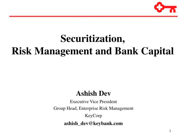 Securitization,