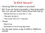 is rsa secure