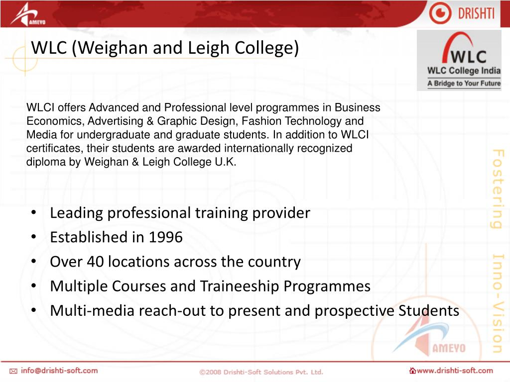 WLC (Weighan and Leigh College)