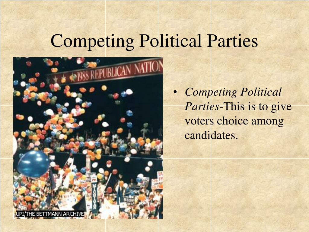 Competing Political Parties