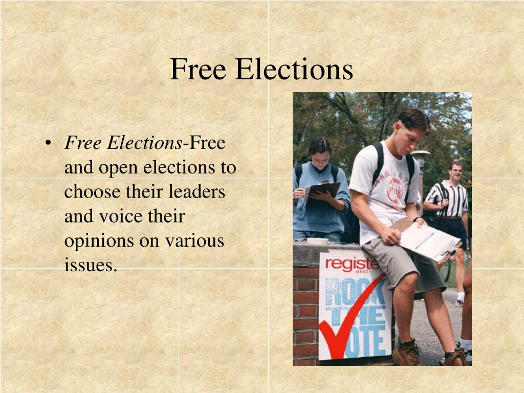 Free Elections
